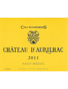 Château d'Aurilhac - Haut-Médoc Cru Bourgeois 2011