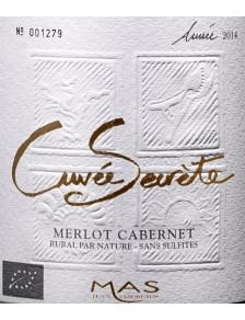 JC Mas Cuvée Secrète Merlot Cab-Franc Bio (s/sulfites) 2020