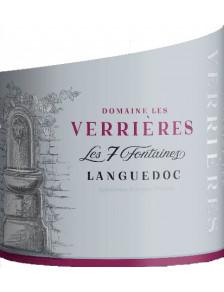 Les Verrières - Les 7 Fontaines - Languedoc 2019