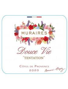 Douce Vie Tentation Les Muraires 2020 - Côtes de Provence Rosé