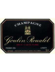 Champagne Goulin-Roualet Brut Carte Noire 1er Cru