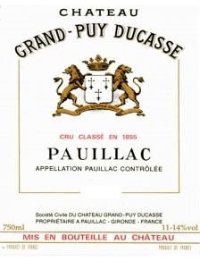 Château Grand Puy Ducasse 2005