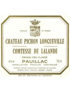 Château Pichon Longueville Comtesse de Lalande 2004