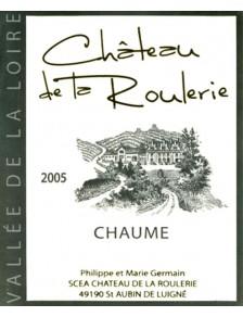Château de la Roulerie - Chaume 2005 50cl