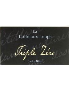Jacky Blot - Montlouis s/Loire Triple Zero