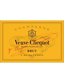 Champagne Veuve Clicquot Carte Jaune Brut Coffret