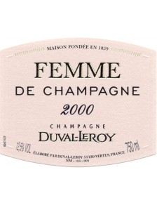 Champagne Duval-Leroy Femme de Champagne Grand Cru 2000