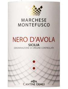 Marchese Montefusco Nero d'Avola 2019
