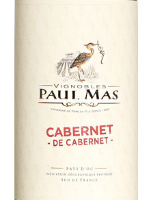 Paul Mas Cabernet de Cabernet 2019