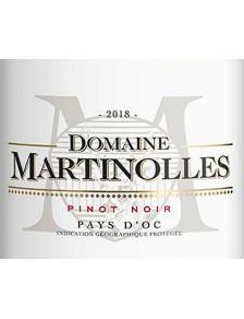Domaine Martinolles - Pinot Noir 2019