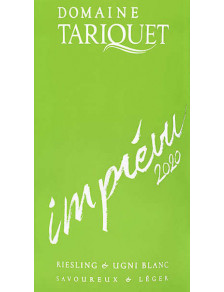 Tariquet - L'imprévu 2020